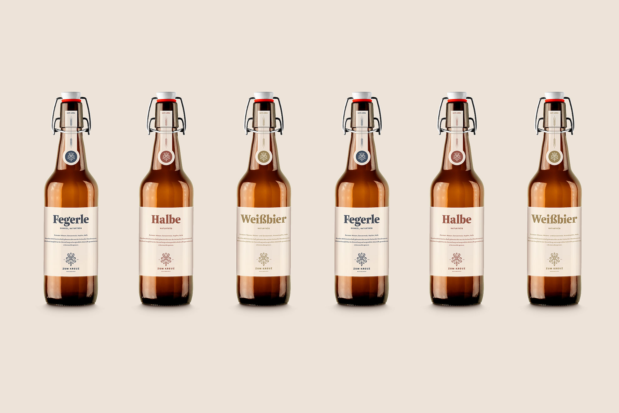 selbstgebraute Biere